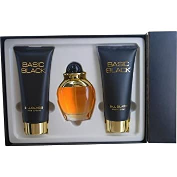 Bill Blass Basic Black Fragrance Set Fragrance Set, 3 Count