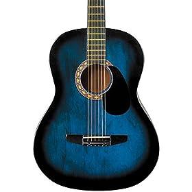 Rogue Starter Acoustic Guitar Blue Burst 4