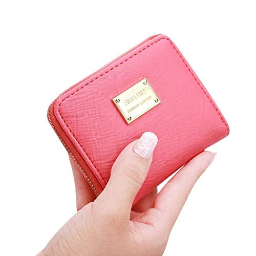 Cute Small Mini Wallet Holder Zip Coin Purse Clutch Handbag Womens Grils