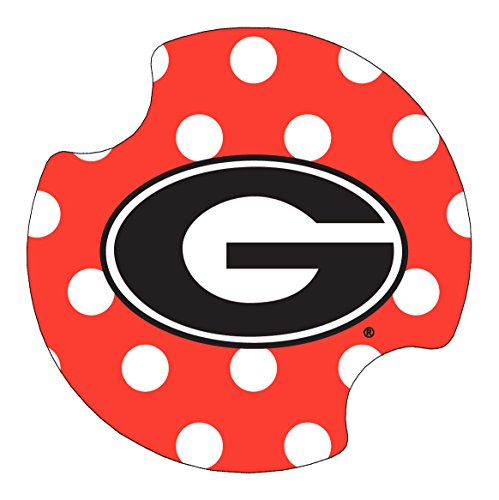 Thirstystone University of Georgia Dots Car Cup Holder Coaster, (Dots Coasters)