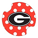 Kitchen Bar Athens Thirstystone University of Georgia Dots Car Cup Holder Coaster, 2-Pack