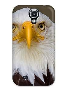 MEIkwcA3664PLEYN Snap On Case Cover Skin For Galaxy S4(eagle)