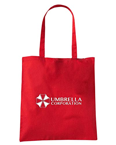 Speed Shirt Borsa Shopper Rossa FUN0260 UMBRELLA CORPORATION