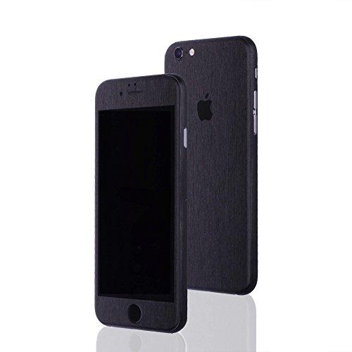AppSkins Folien-Set iPhone 6s PLUS Metal black