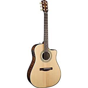 fender cd 220sce dreadnought cutaway acoustic electric guitar with ash burl back and. Black Bedroom Furniture Sets. Home Design Ideas