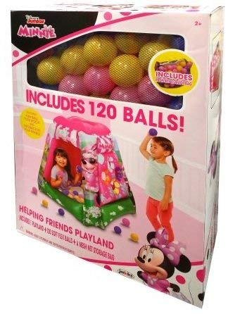 Minnie Mouse Ball Pit Playland with 120 Balls Jaks