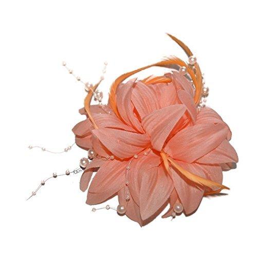 Coral Flowers Brooch - 9