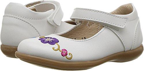 Kid Express Baby Girl's Athena (Toddler/Little Kid) White Combo 24 M EU Toddler White Combo Footwear