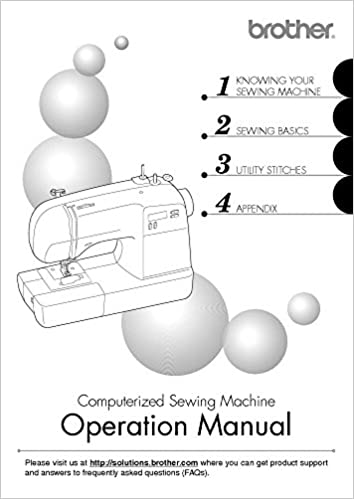 Brother SB40T Sewing Machine Owners Instruction Manual There And Unique Brothers Sewing Machine Manual