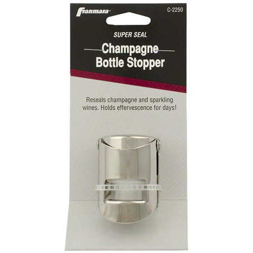 Franmara Carded Champagne Stopper (04-0369) Category: Wine Bottle Stoppers (Champagne Plated Stopper)
