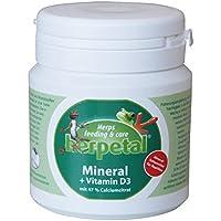 Herpetal Mineral mit Kalziumzitrat & Vitamin D3 für Reptilien