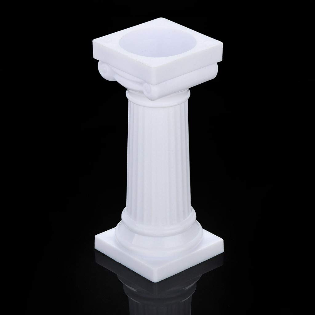 Euone  Cake Pillars Clearance, 4pcs Multi-Layered Cake Roman Column Support Stand Decor Pillars Wedding Cake by Euone (Image #6)