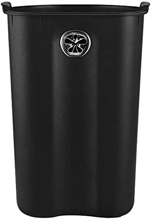 Lszdp-oficina papelera Cubos de basura Cubo de basura sin cubos creativo Hogar Sala de estar Dormitorio europeo Cocina Baño Tubo de papel higiénico Cubo de almacenamiento doméstico Contenedor de basur