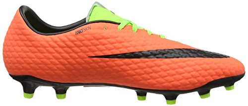 Nike Vlt Verde Elctrc Scarpe Hypr Orng Hypervenom III Blk Green FG da Phelon Calcio Uomo ZwZUr6q