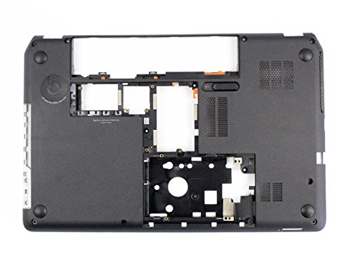 Ivos Replacement Laptop BLACK Bottom Case Midframe Lower Base Cover Enclosure Chassis for HP Pavilion Envy M6 M6-1000 M6-1125dx M6-1035dx M6-1009DX 707886-001 686896-001 (Hp Bottom Case)