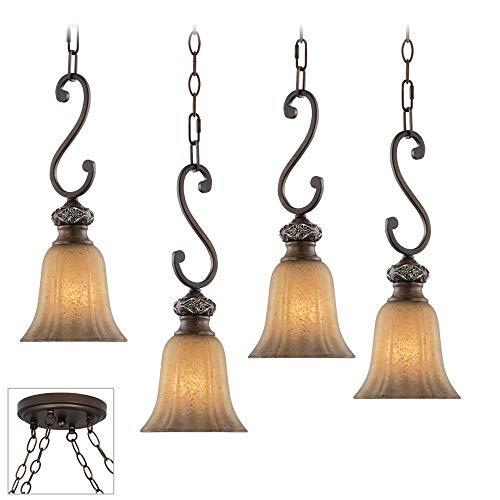 Sterling Estate Bronze 4-Light Multi Light Pendant - Kathy Ireland 4 Light