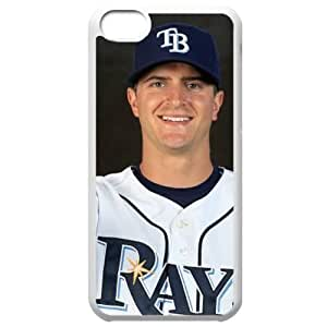 MLB Iphone 5C White Tampa Bay Devil Rays cell phone cases&Gift Holiday&Christmas Gifts NBGH6C9126271