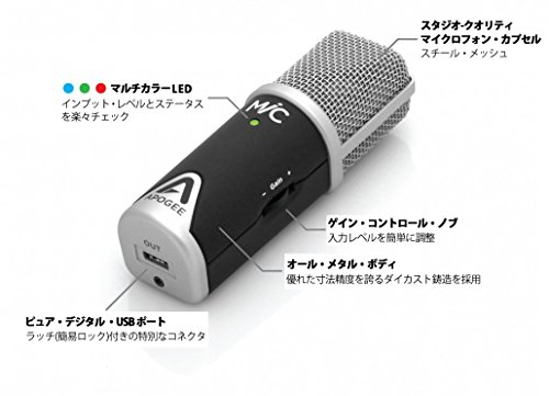 Apogee MiC 96k Professional Quality Microphone for iPad, iPhone, and Mac by Apogee (Image #8)