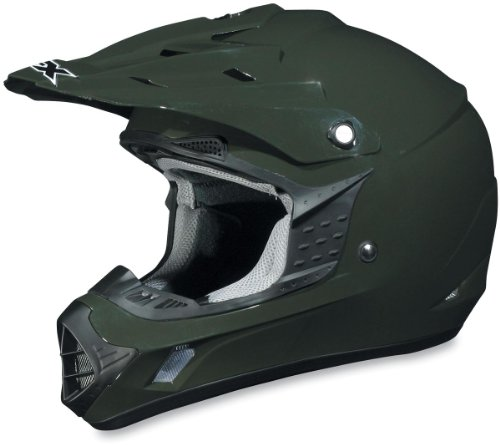 Afx 20 Helmets Fx (AFX FX-17 Unisex-Adult Off-Road-Helmet-Style Helmet (Olive, XX-Large))