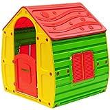 OFFERTA SPECIALE - casetta per bambini in plastica colorata - 102x109x90 cm