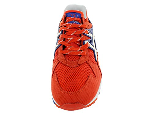 Asics Mens Gel-kayano Trainer Sneaker Retrò Orange.com/white