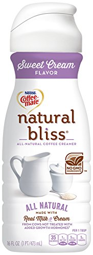 Image result for coffee creamer coffee mate natural bliss sweet cream