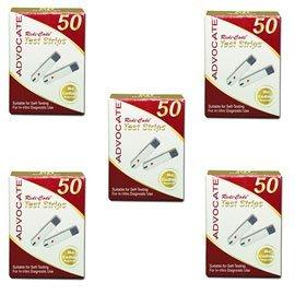 Advocate Redi-Code Glucose Test Strips 50/bx - Buy 4, Get 1