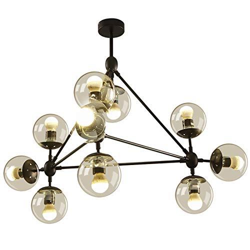 Amazon.com: KALRI Lámpara de techo, diseño moderno, redonda ...