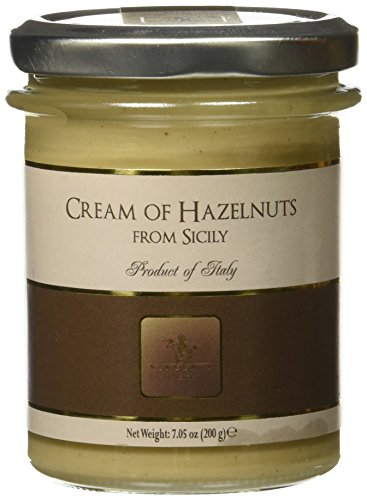 Cream Spread - Vincente Sicilian Cream of Hazelnuts Nut Spread, 7.05 Ounce
