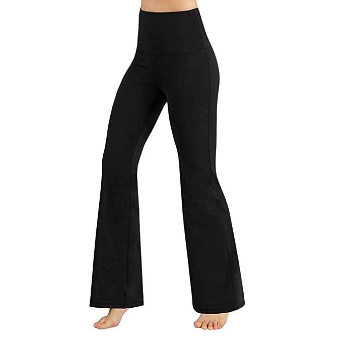 Amazon.com: iNoDoZ - Pantalones de yoga para mujer, de ...