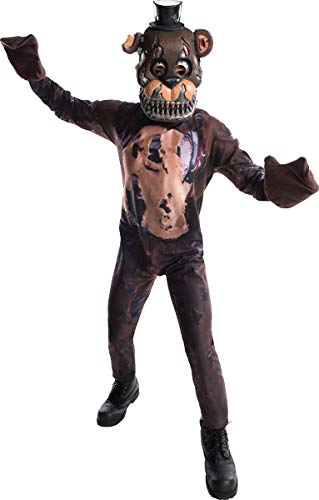 Rubie's Costume Boys Five Nights at Freddy's Nightmare Fazbear Costume, Large, -