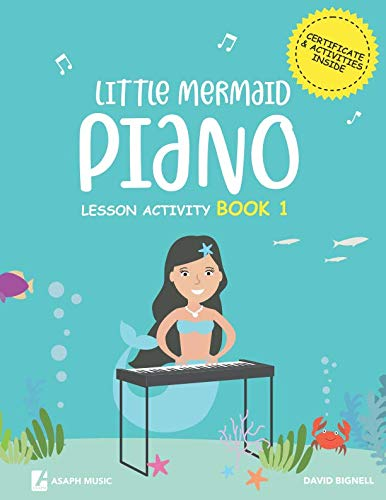 Little Mermaids Piano Lesson Activity Book 1
