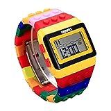 Frunalte watch, Children's Watch Unisex Colorful Digital Wrist Watch Boys Girls Birthday Gift Clearance on Sale