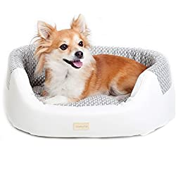 FluffyPal Dog's Bed For Small Medium Large Dogs & Cat Bed, Comfy Place To Lounge Around, Rest & Snuggle! Easy Washable Dog Bed To Keep Your Pet Incredibly Clean! Get Your Dog Off Your Furniture