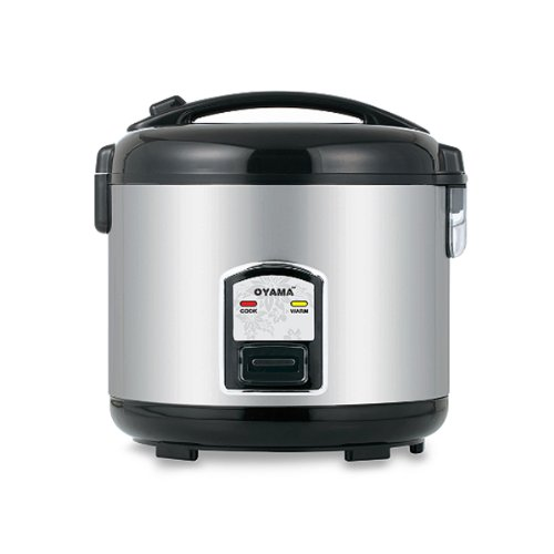 Price comparison product image Oyama 10-cup Stainless Steel Rice Cooker