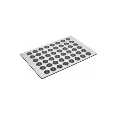 Focus Foodservice 905575 Cupcake/Muffin Pan, 5 Rows of 7, 1-3/8 inch Vertical Depth, 17-7/8 inch x 25-7/8 inch, 3.8 Oz Capacity per Cup