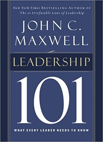 Leadership 101: What Every Leader Needs to Know Hardcover – September 8, 2002