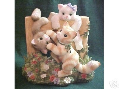 Enesco Calico Kittens Just Hangin Around Limited Edition 720879