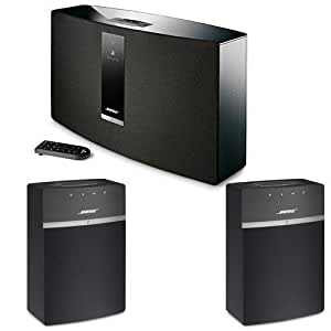 bose soundtouch 30 series iii wireless music system with remote control black. Black Bedroom Furniture Sets. Home Design Ideas