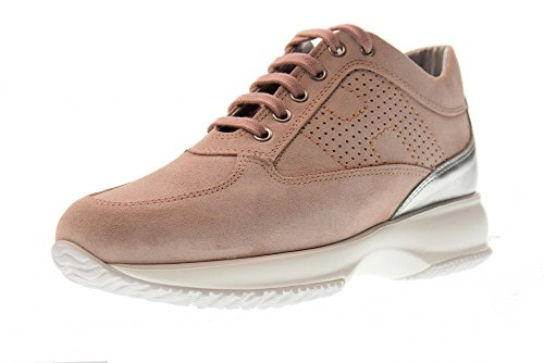 Hogan Kvinder Lave Sneakers Hxw00n00e30idz0pcg Interaktiv Lyserød ccAQF