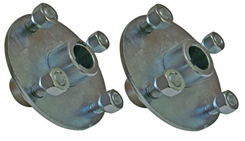 Set of 2-4x4 Galvanized Wheel Hubs 1