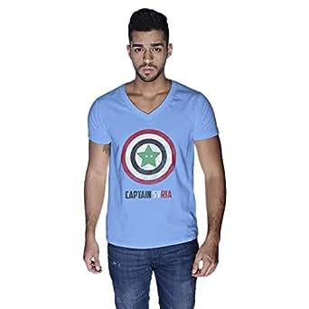 Creo Captain Syria T-Shirt For Men - Xl, Blue