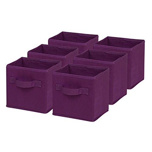 Honey Can Do Mini Non Woven Foldable Purple