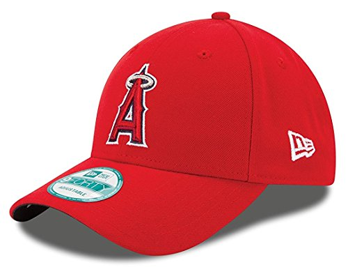 - MLB Youth The League Los Angeles Angels 9Forty Adjustable Cap