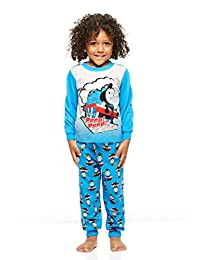 Boys Toddler 2-Piece Pajama Set, Long-Sleeve Top and Jogger Pants, by Jellifish Kids