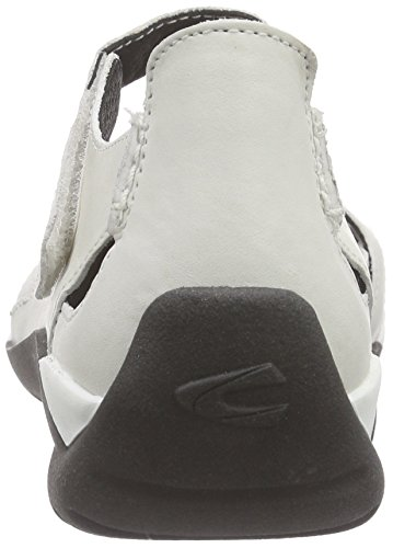 camel active Moonlight 71 Damen Geschlossene Sandalen Weiß (off-white)
