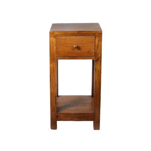 Middle England Lisbon Range 60cm Side End Bedside Table Lamp Plant Stand  Telephone Table Solid Acacia Wood: Amazon.co.uk: Kitchen U0026 Home