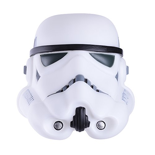 Sterno Home Storm Trooper Glow Buddy - Star Wars, Light Up Helmet with Timer, Famous Quotes, Action Noises & Color Changing]()