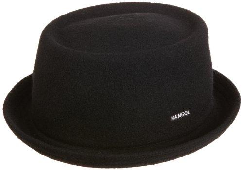 Kangol Men's Wool Mowbray Hat, Black, - Mowbray Hat Wool