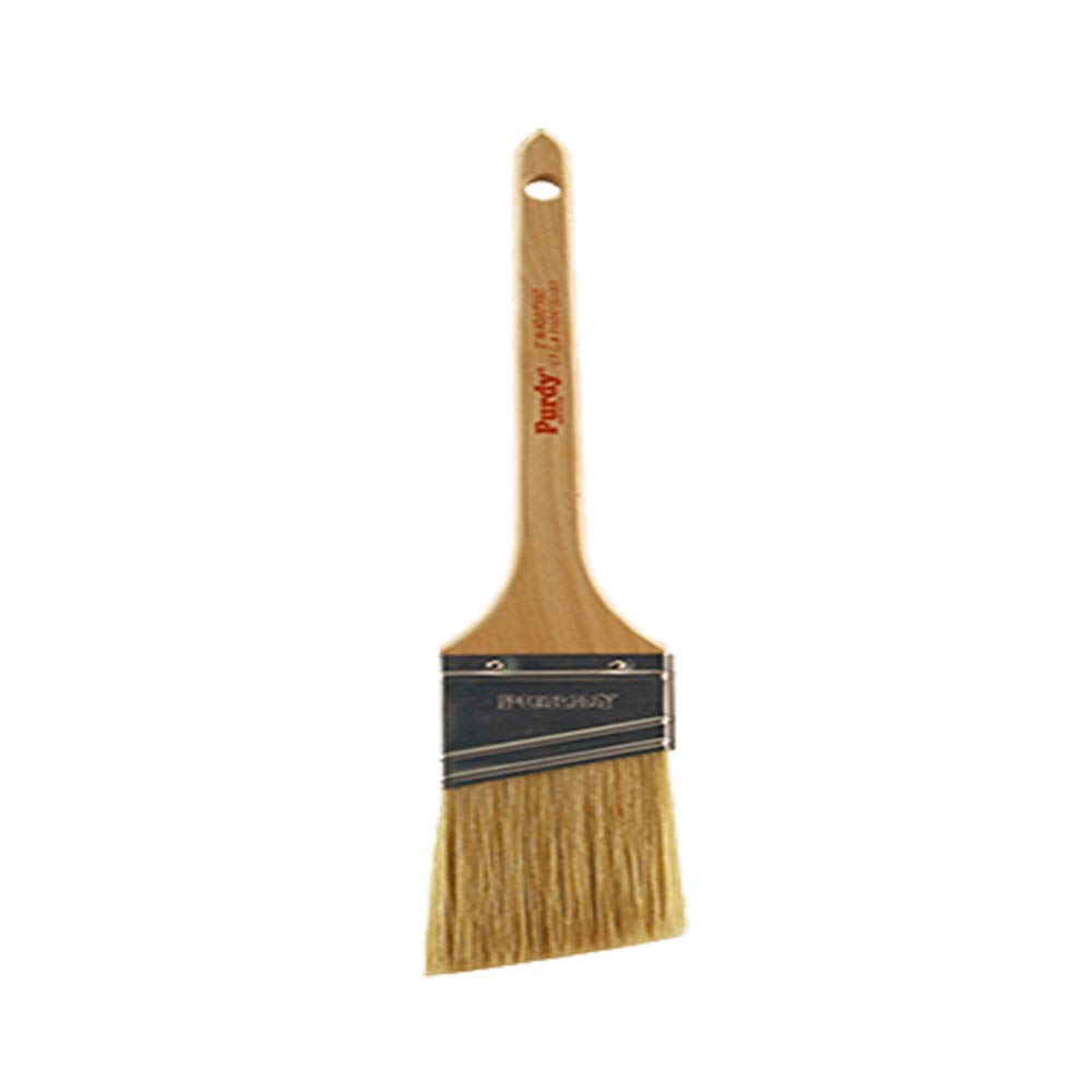 2-1//2 inch Purdy 144380425 White Bristle Series Sprig Flat Trim Paint Brush